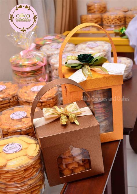 Jual Keranjang Parcel Lebaran kue kering alikacookiesncakes