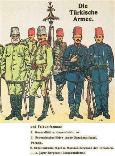 ottoman army uniforms ottoman turkish uniforms ww1 history first world war