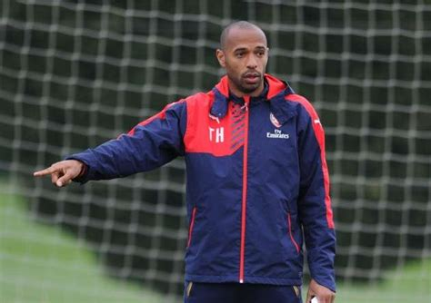 arsenal coach thierry henry named as new belgium assistant manager