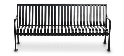 belson outdoors benches aspen 6ft steel slat bench metal park benches belson