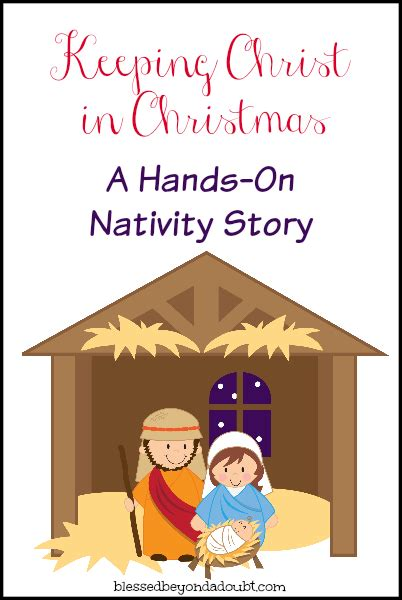 printable christmas nativity hands on nativity free printable free and sunday school
