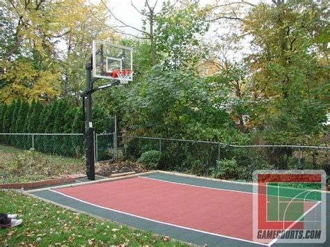 diy backyard basketball court outdoor furniture design