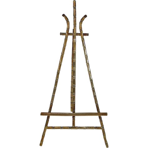 doll easel miniature doll house brass faux bamboo easel from
