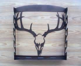 four gun wall mount gun rack by madmetalworks on etsy