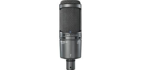 Audio Technica At2020 Cardioid Condenser Studio Microphone audio technica at2020 usb plus cardioid studio condenser microphone with usb output