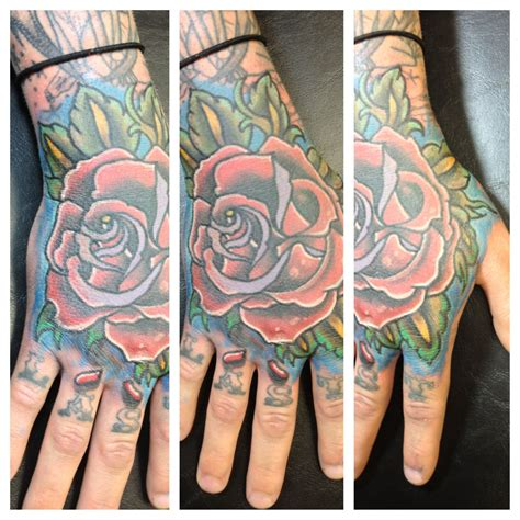 rose tattoo price done by bob price at inferno studios