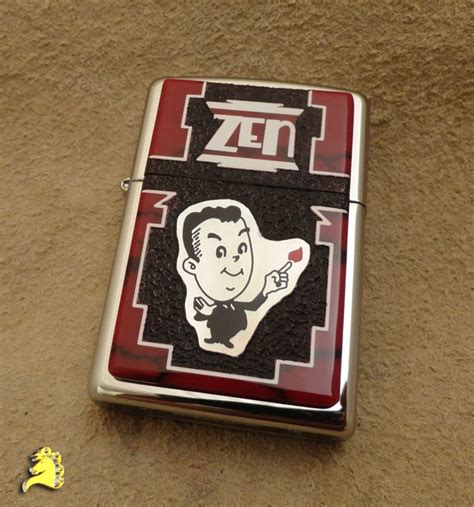 Zippo Custom Club 27 best zen club zippo lighters images on
