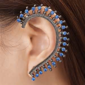 ear cuff jewelry forget studs or chandeliers make a statement ear cuff your accessory of choice this festive season