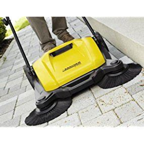 karcher s650 outdoor push sweeper patio