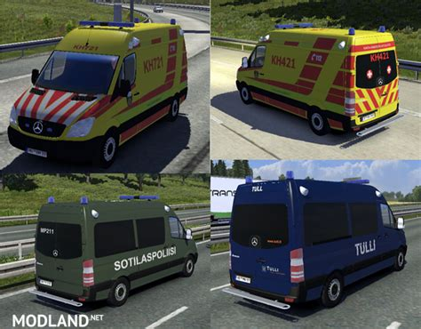 nettiin kuva 1 png mod fin and ambulance ai cars v 2 2 2 mod for ets 2