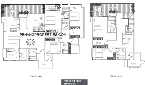 1 tanjung penang floor plan the peak residences for sale and rent new condo in