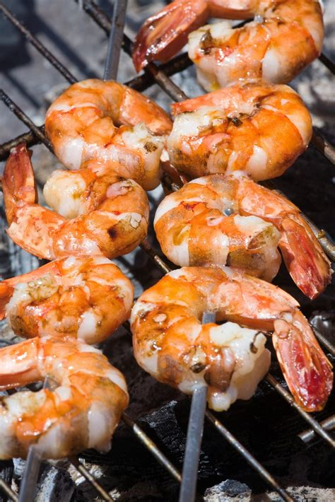 cooking guide 101 marinated grill shrimp barbecuing recipe