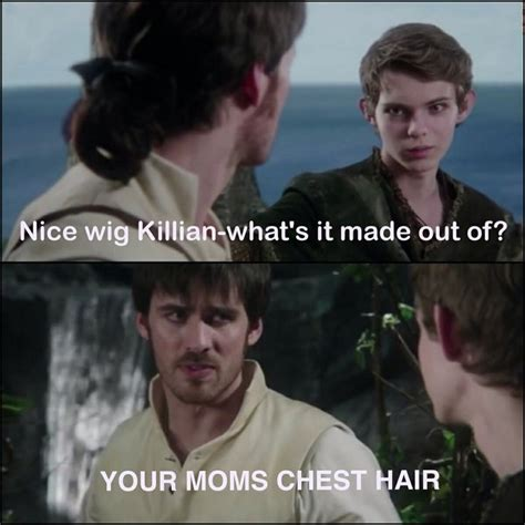 Your Moms Chest Hair Meme - nice wig killian what s it made out of your moms chest