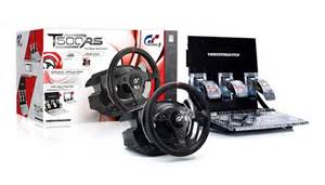 Steering Wheel And Clutch For Ps3 Thrustmaster Announces Officially Licensed Ps3 Steering