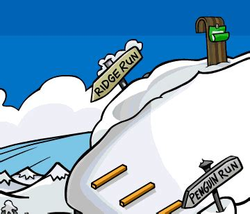 arctic challenge sled race saraapril in club penguin sled race in club penguin