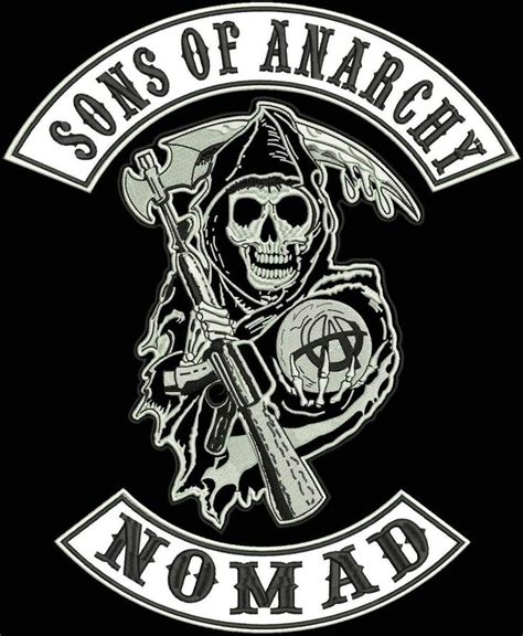 sons of anarchy logo template sons of anarchy vest cut patches nomad patch sons of