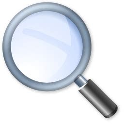 Finder Records Search Icon Must Iconset Visualpharm