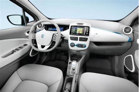 renault zoe interior 2013 renault zoe a stylish normal complement to the