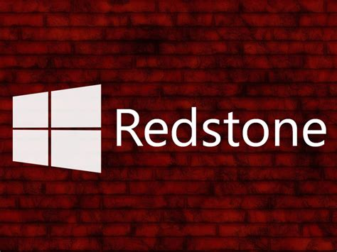 redstone l redstone microsoft travaille d 233 j 224 224 l apr 232 s windows 10