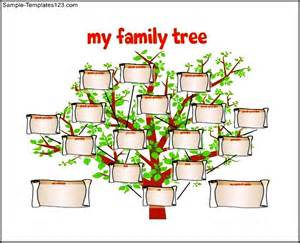 Free Templates For Family Trees by Family Tree Template For Free Pdf Format Sle