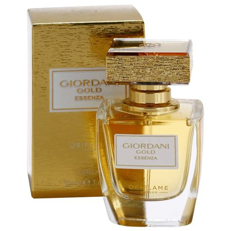 oriflame giordani gold essenza perfume for 50 ml notino co uk