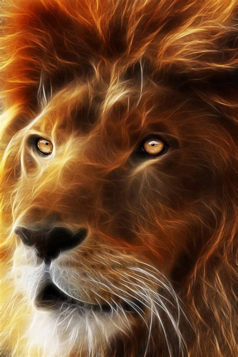 wallpaper 3d lion hd 3d lion king wallpapers for iphone 4