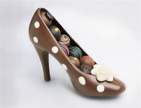 chocolate high heel shoe chocolate high heel shoe milk home design garden