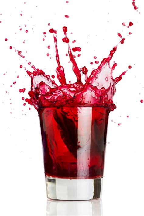 red drink blood shot drink of the week
