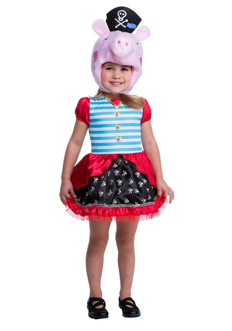 pig costume for peppa pig pirate costume