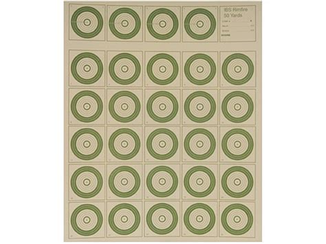 printable ibs targets national target international bench rest shooters target