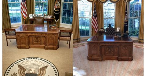 fdr  trump   oval office decor  changed