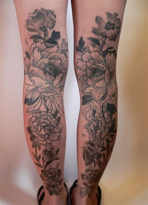 lower leg flower tattoo designs 35 best leg designs for thumb tattoos leg