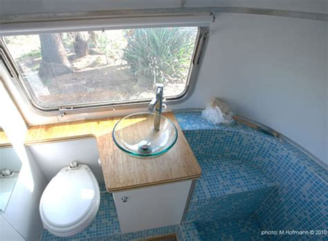 airstream bathroom renovation hofarc airstream renovation architecture design