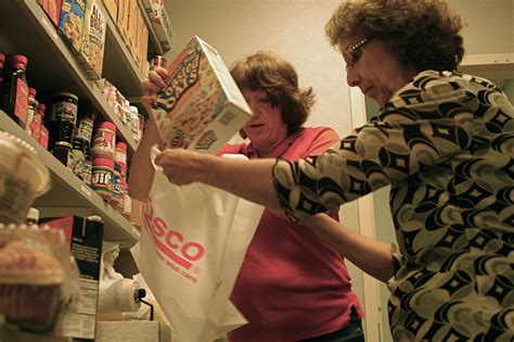 Libertyville Food Pantry by Renovated Food Pantry Has Empty Shelves As Number Of