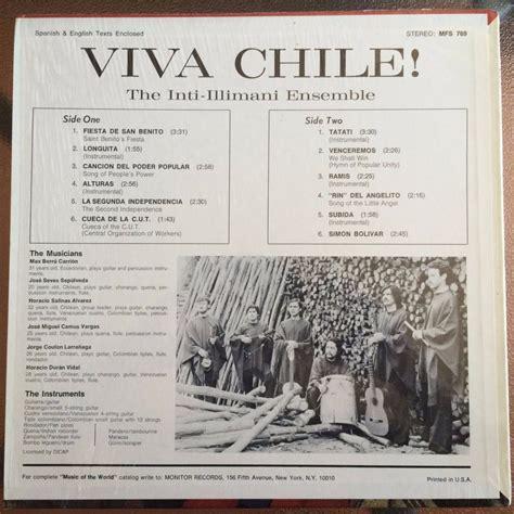 vinilos venta chile vinilo inti illimani viva chile 1975 21 000 en