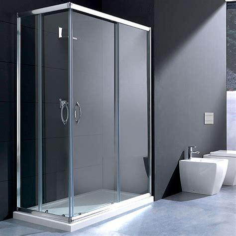 box doccia trasparente box doccia rettangolare 70x90 in cristallo da 6 mm