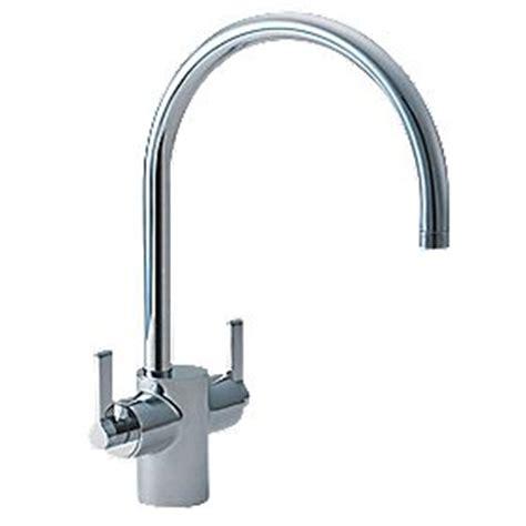 Ideal Standard Silver Dual Control Basin Monobloc Mixer