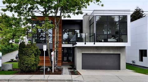 modern home design ontario leed pre fab homes news ecohome
