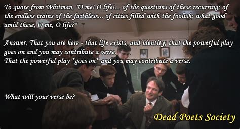 movie quotes dead poets society 31 life lessons we can learn from robin williams movies