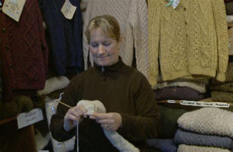 ireland knitting tours inishmore island ireland aran sweaters something