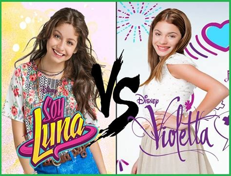 imagenes de soy luna vs violetta violetta vs soy luna y descubre quien ganara