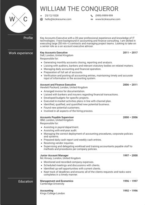resume for accounting manager krida info