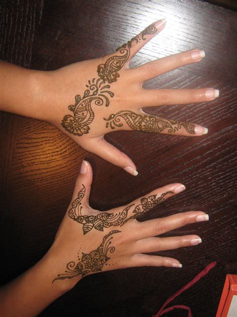 henna tattoos permanent henna pictures