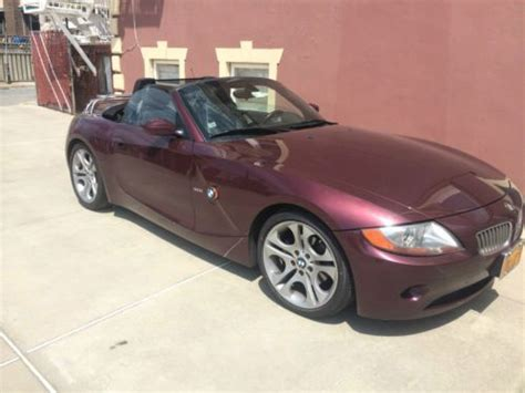 electronic stability control 2003 bmw z4 on board diagnostic system sell used 2003 bmw z4 3 0i convertible 2 door 3 0l mint condition sports premium pkg in new york