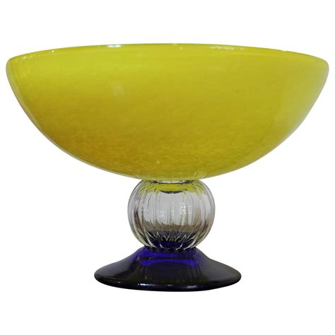 gunnel sahlin for kosta boda decorative glass bowl at 1stdibs