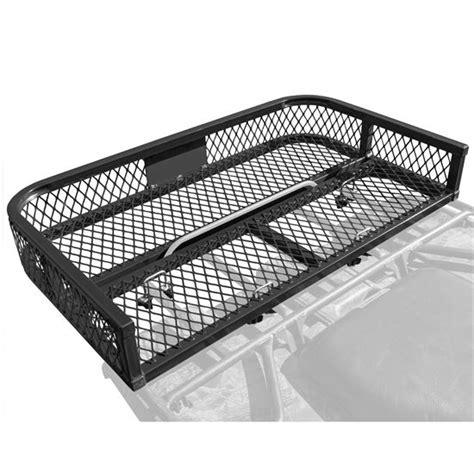 Atv Rack by Atv Rear Rack Mounted Steel Mesh Surface Storage Cargo