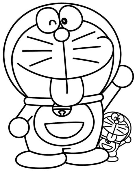 free coloring page doraemon printable cartoon pictures az coloring pages