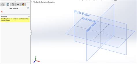 solidworks tutorial creating plane solidworks sketch tutorial for beginners