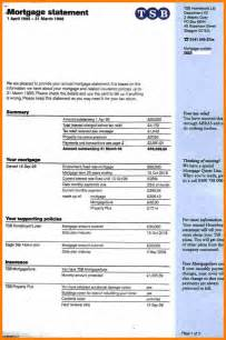 11 mortgage statement example hostess resume