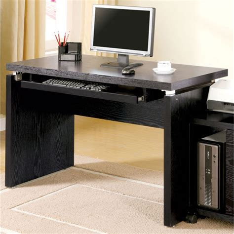 black desk with keyboard drawer computer desks on sale bellacor